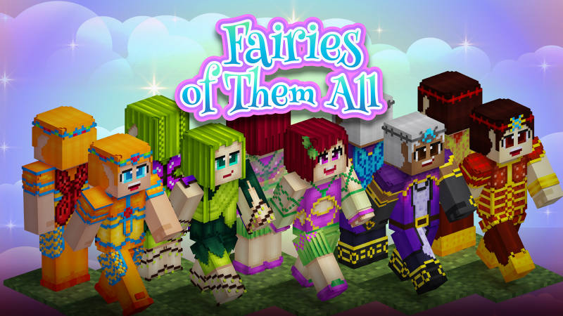 Fairies Of Them All on the Minecraft Marketplace by BLOCKLAB Studios