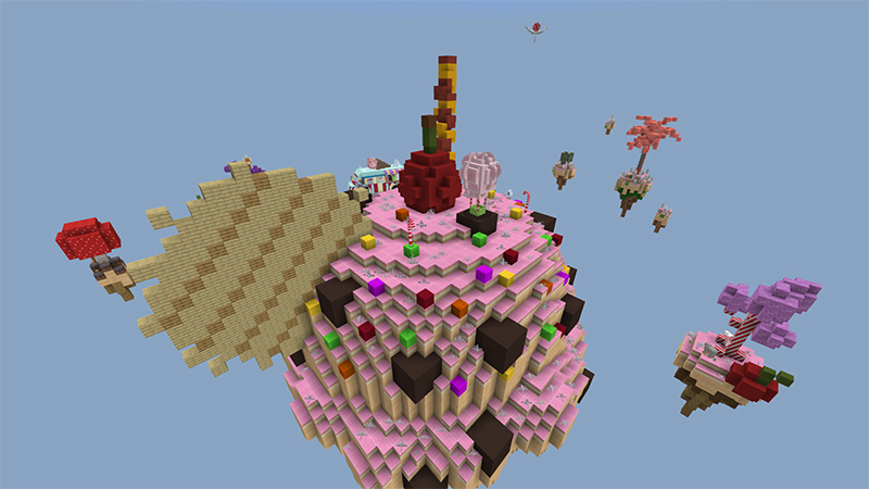 Candy Land Skyblock on the Minecraft Marketplace by Team Visionary