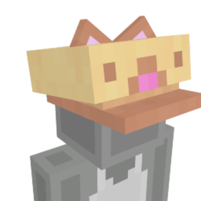 Cat hat on the Minecraft Marketplace by Owls Cubed