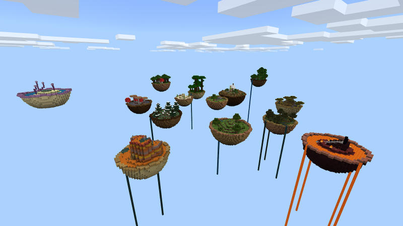 Sky Soup Survival on the Minecraft Marketplace by BLOCKLAB Studios