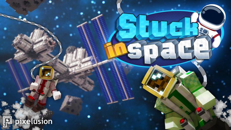 Stuck in Space on the Minecraft Marketplace by Pixelusion