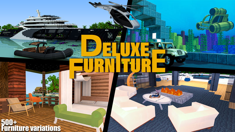 Deluxe Furniture Superyacht on the Minecraft Marketplace by Blockception