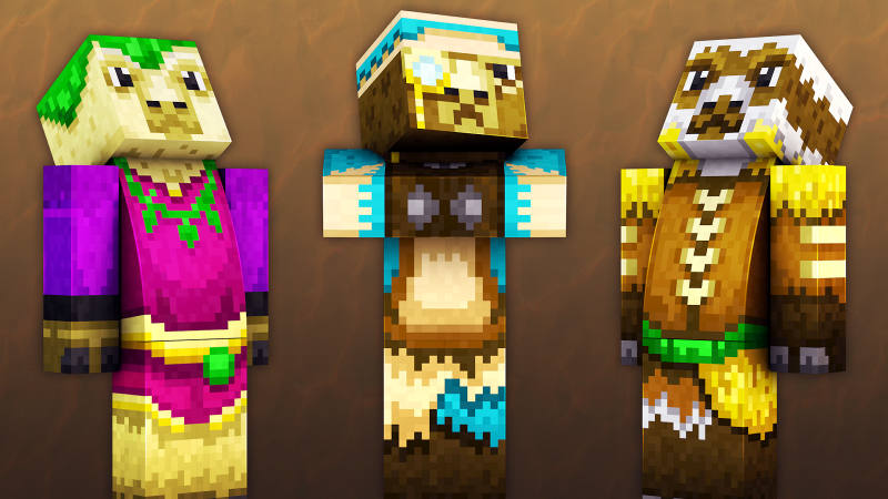 Llama Villagers on the Minecraft Marketplace by 57Digital