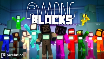 Among Blocks on the Minecraft Marketplace by Pixelusion