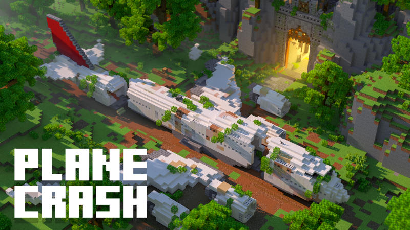 Plane Crash on the Minecraft Marketplace by BLOCKLAB Studios