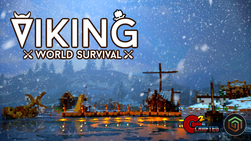 Viking World Survival on the Minecraft Marketplace by G2Crafted