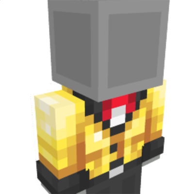 Shiny Golden Blazer on the Minecraft Marketplace by Starfish Studios