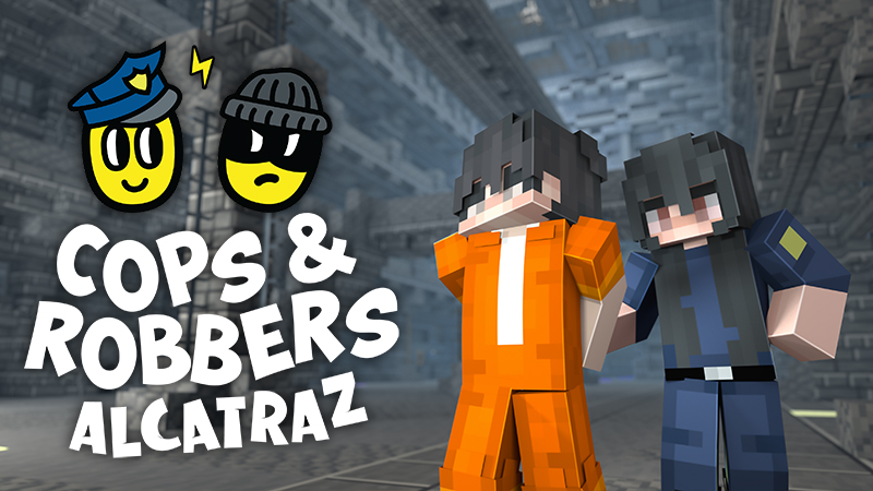 Cops and Robbers Alcatraz on the Minecraft Marketplace by Podcrash