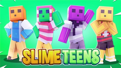 Slime Teens on the Minecraft Marketplace by Cynosia