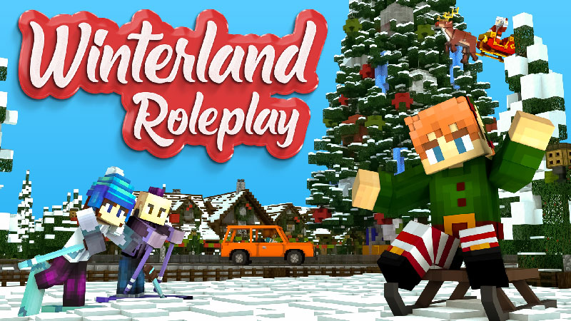 Winterland Roleplay on the Minecraft Marketplace by Blockception