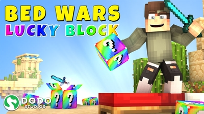 Lucky Block Bed Wars on the Minecraft Marketplace by Dodo Studios