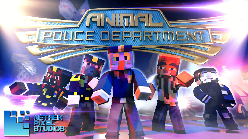 Animal Police Department on the Minecraft Marketplace by Netherpixel