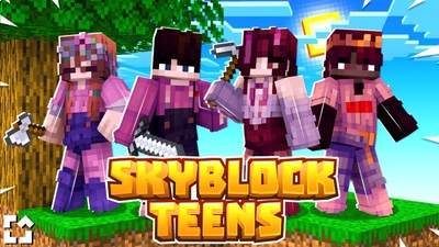 Skyblock Teens on the Minecraft Marketplace by Fall Studios