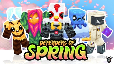 Defenders of Spring on the Minecraft Marketplace by Mike Gaboury