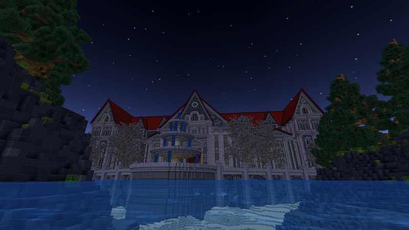 The Haunted House on the Minecraft Marketplace by Shaliquinn's Schematics