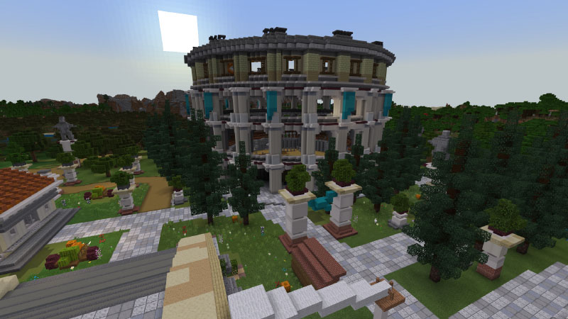 Athem City on the Minecraft Marketplace by Pixelusion