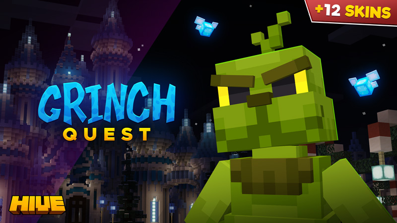 Grinch Quest on the Minecraft Marketplace by The Hive