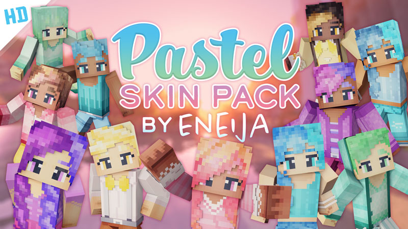 Pastel HD Skin Pack on the Minecraft Marketplace by Eneija