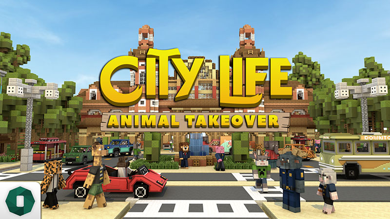 City Life Animal Takeover on the Minecraft Marketplace by Octovon