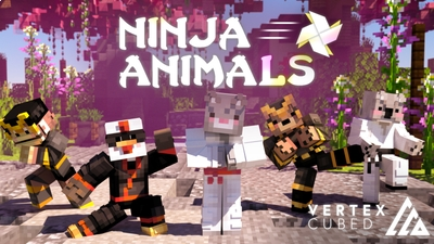 Ninja Animals on the Minecraft Marketplace by Vertexcubed