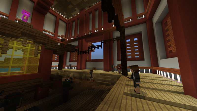 Samurai Sanctuary by CubeCraft Games