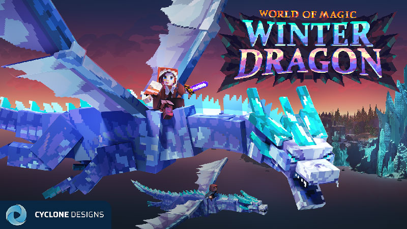 Winter Dragon on the Minecraft Marketplace by Cyclone
