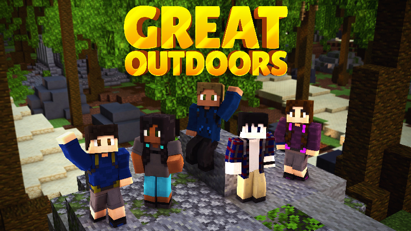 Great Outdoors Skin Pack on the Minecraft Marketplace by Impulse