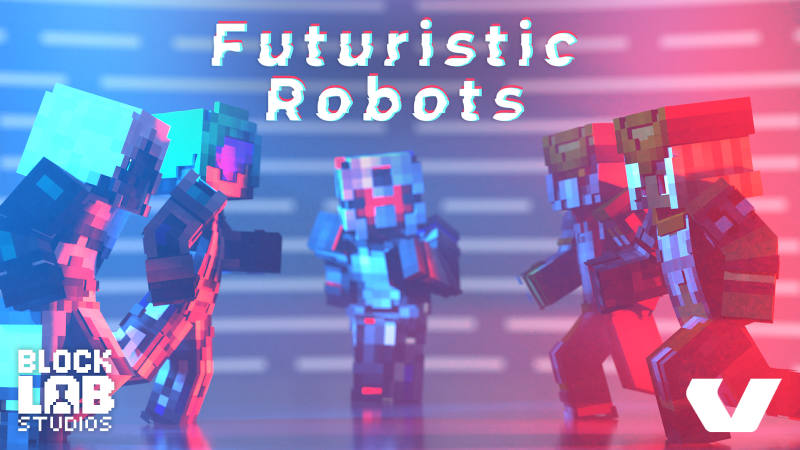 Futuristic Robots on the Minecraft Marketplace by BLOCKLAB Studios