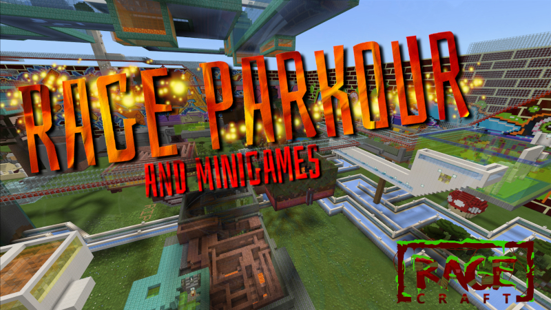 Rage Parkour on the Minecraft Marketplace by The Rage Craft Room