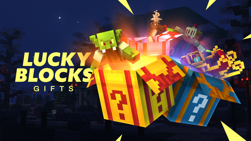 Lucky Blocks Gifts on the Minecraft Marketplace by Spark Squared