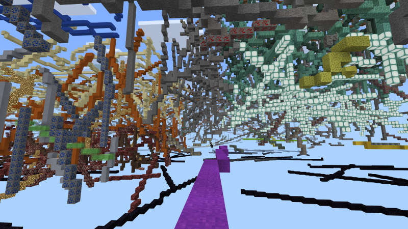 Abstraction: VECTOR on the Minecraft Marketplace by Jigarbov Productions