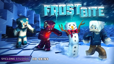 Frostbite HD Skins on the Minecraft Marketplace by Syclone Studios