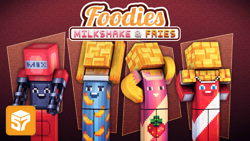Play Foodies: Milkshake & Fries