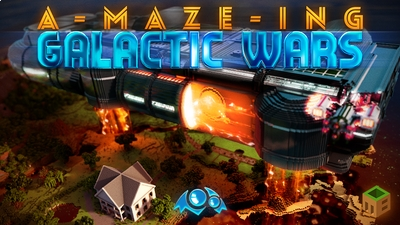 AMazeing Galactic Wars on the Minecraft Marketplace by Monster Egg Studios