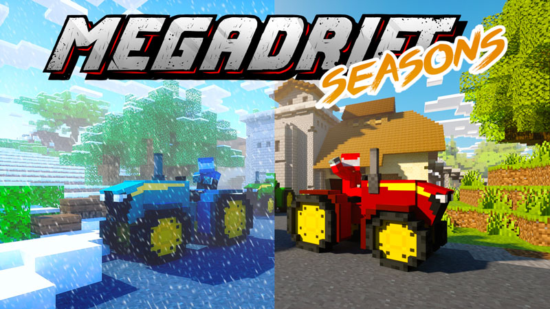Megadrift  Seasons on the Minecraft Marketplace by Norvale
