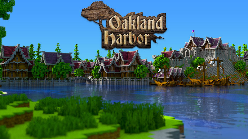 Oakland Harbor on the Minecraft Marketplace by Impulse