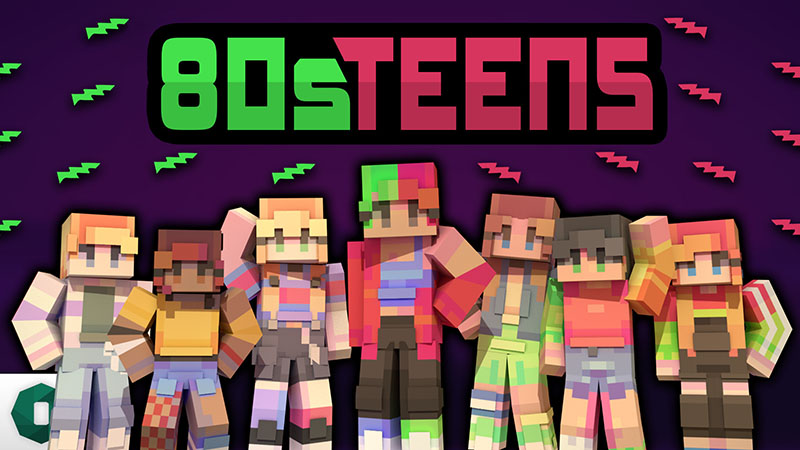 80s Teens on the Minecraft Marketplace by Octovon