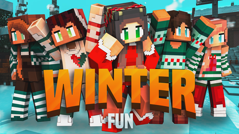 Winter Fun Skin Pack on the Minecraft Marketplace by Blockception