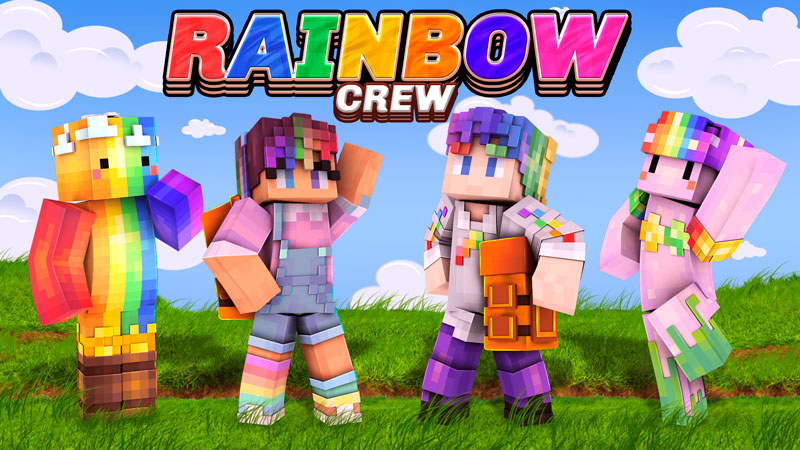Rainbow Crew on the Minecraft Marketplace by BBB Studios