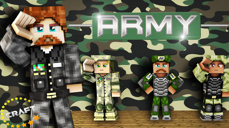 Army on the Minecraft Marketplace by The Craft Stars