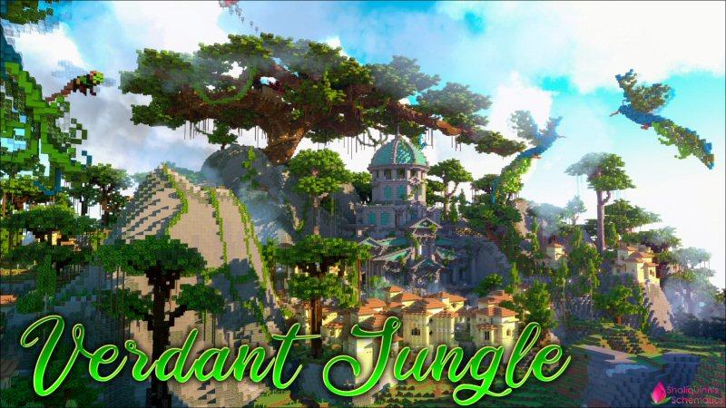 Verdant Jungle on the Minecraft Marketplace by Shaliquinn's Schematics