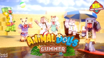 Animal Dolls Summer HD on the Minecraft Marketplace by LinsCraft