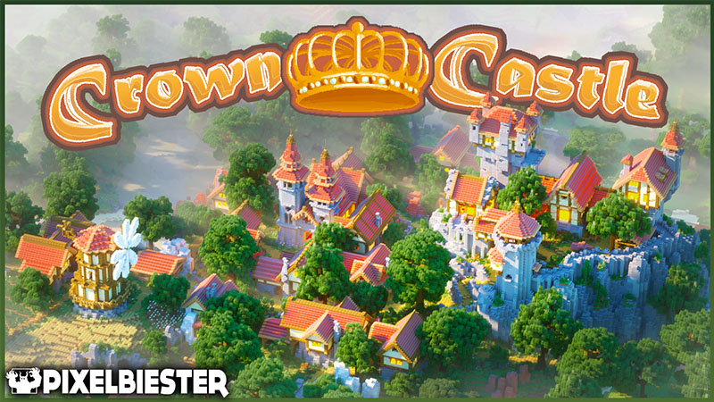 Crown Castle  on the Minecraft Marketplace by Pixelbiester