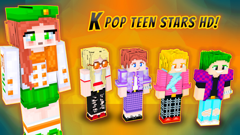 Kpop Teen Stars on the Minecraft Marketplace by VoxelBlocks