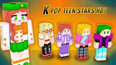 Kpop Teen Stars on the Minecraft Marketplace by VoxelBlocks