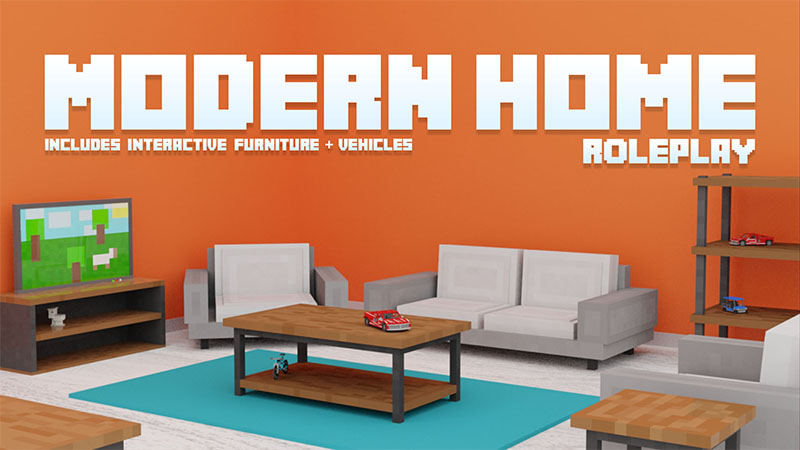 Modern Home  Roleplay on the Minecraft Marketplace by Aurrora