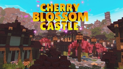 Cherry Blossom Castle on the Minecraft Marketplace by Impulse