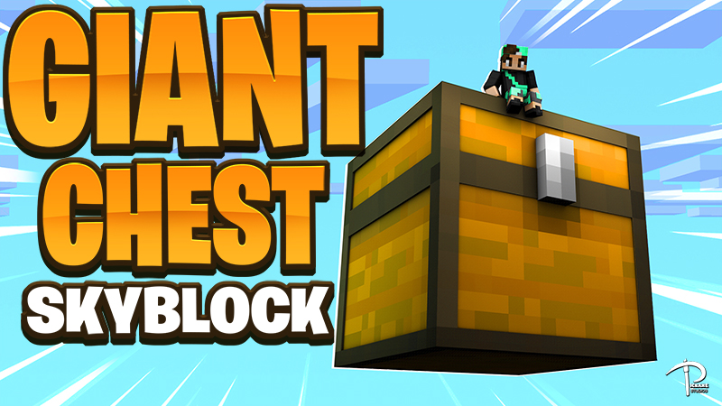 Giant Chest Skyblock on the Minecraft Marketplace by Pickaxe Studios