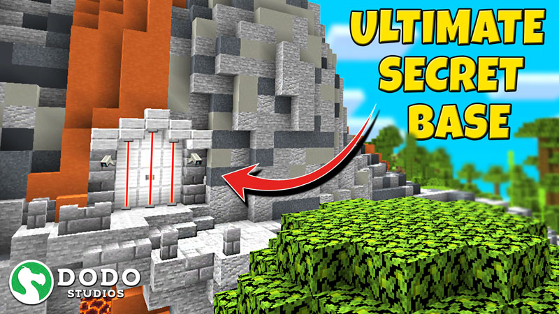 Ultimate Secret Base on the Minecraft Marketplace by Dodo Studios
