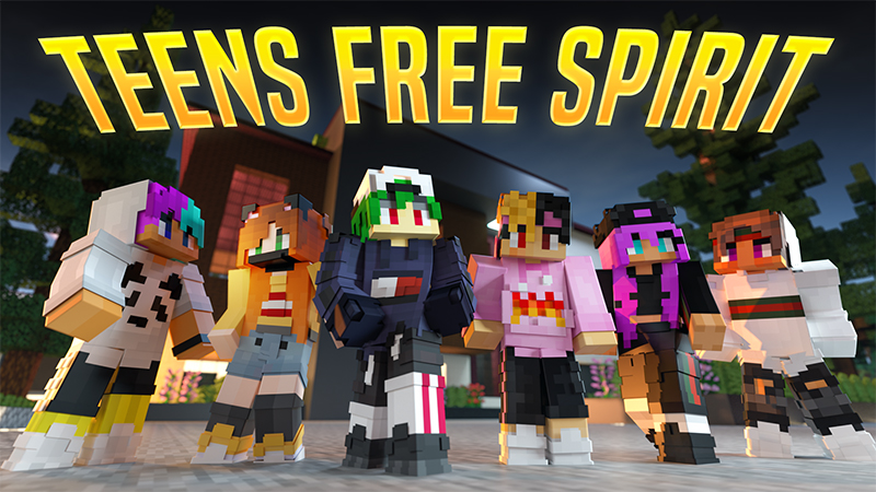 Teens Free Spirits on the Minecraft Marketplace by Team Visionary